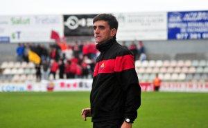 Emili Vicente durant un partit amb el CF Reus