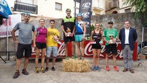 Albert Ferrer i Edurne Zazpi, guanyadors del cinquè Trail de Colldejou