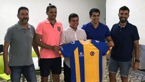 D'esquerra a dreta: Esteve Pujals, Iván Cotilla, Arnau Moragas i Ricard Notario