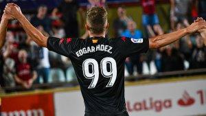 El davanter roig-i-negre ha disputat un total de 99 partits entre lliga, 'playoff' i Copa del Rei