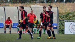 El filial del CF Reus, d'alegria