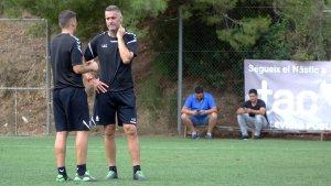 Lluís Carreras tanca la seva etapa com a entrenador del Nàstic amb només cinc partits oficials disputats