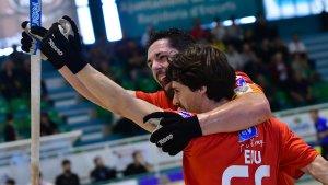 Ferrer i Fernández han vist porteria en el matx d'avui