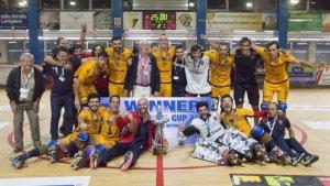 L'Oliveirense li va guanyar la Copa Continental al Reus Deportiu el passat octubre per 7 a 4