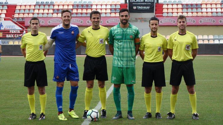 Saúl Ais Reig va dirigir el partit del CF Reus davant el Cornellà aquest estiu