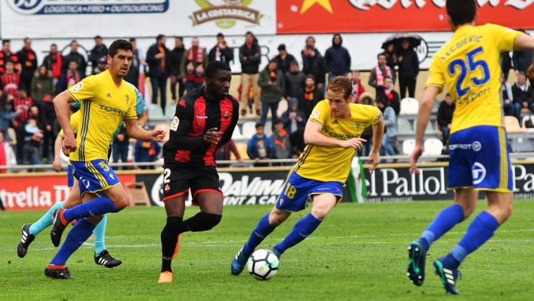 CF Reus, ReusCádiz1718, Cádiz