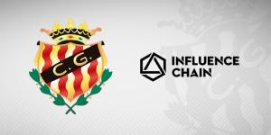 Influence Chain se suma a la llista de patrocinadors del Nàstic