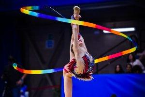 Les millors imatges de la final de Gimnàstica Rítmica dels Jocs Mediterranis.