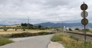 Imatge de part dels terrenys on s'ubicarà el centre logístic.