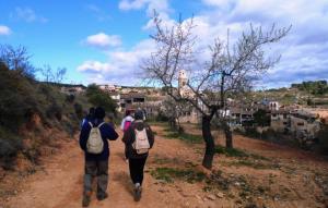 Imatge d'una anterior caminada a Vallclara.