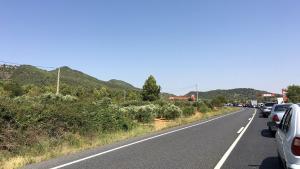 L'accident ha provocat retencions en el trànsit en sentit Montblanc.