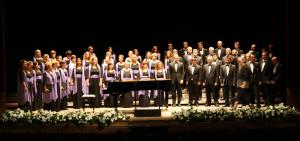Imatge d'una actuació de l'Orfeó Català.