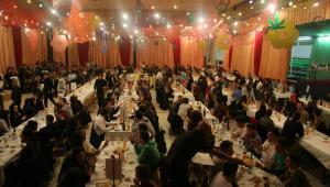 Unes 400 persones van assistir al sopar.