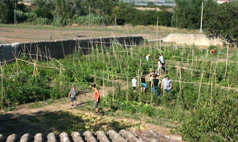 L'objectiu del projecte és fomentar la cohesió social, la sostenibilitat ambiental i la sobirania alimentària