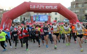 Imatge de la sortida de la cursa popular.