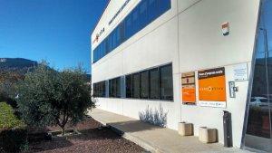 Imatge de l'exterior de les instal·lcions de Concactiva a Montblanc.