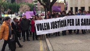 Jaume Solsona arribant als Jutjats de Tarragona.