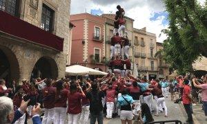 4d6 dels Torraires de Montblanc durant les Festes de Sant Maties 2017.