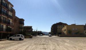 Imatge del carrer Senan prop de l'avinguda del Doctor Folch.