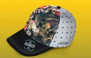 La gorra d'aquesta edició dissenyada per Munich
