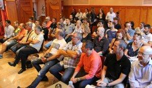 La reunió s'ha celebrat a l'Ajuntament de Montblanc.