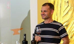 Jordi Llavina durant una visita al Museu de la Vida Rural.