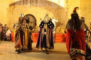 La cavalcada dels Reis Mags a l'Espluga de Francolí