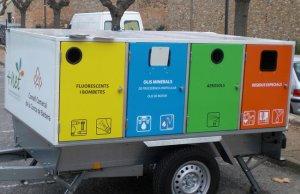 El Consell Comarcal engega una prova pilot per portar el reciclamòbil a les escoles de la comarca.