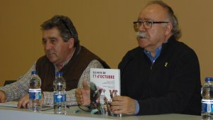 La presentació va anar a càrrec de l'alcalde, Josep Andreu, Josep Lluís Carod-Rovira, un dels autors del llibre, i de l'editor Lluís Pagès, editor.