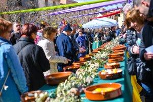 Les imatges de la Diada de la Truita d'Espinacs amb Suc d'Ulldemolins 2018.