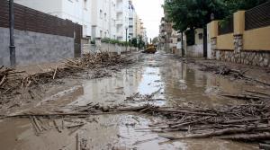 El barri de la Salut després de les inundacions del passat setembre.
