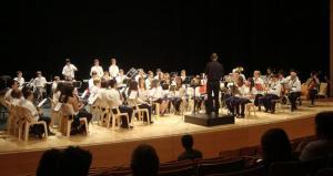 Imatge d'una audició d'alumnes de l'Escola de Música de Salou.