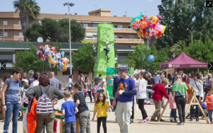 El Parc Xarau ple d'activitat infantil