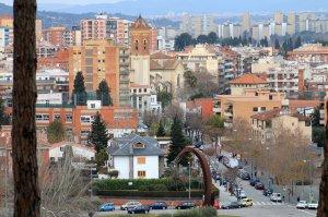 Vista de Cerdanyola del Vallès centre