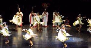 El grup de Mèxic durant la Mostra de Dansa, l'edició anterior