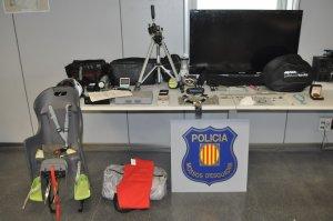 Alguns dels objectes intervinguts