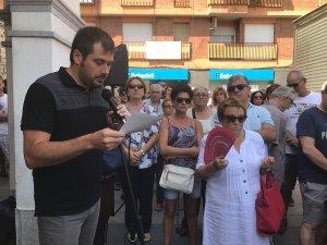 L'alcalde, Carles Escolà, ha llegit el comunicat municipal