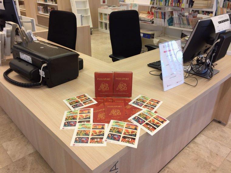 La recepció de la Biblioteca Central de Cerdanyola