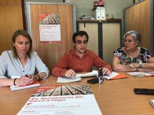 Els tres regidors de Cs a l'Ajuntament de Cerdanyola
