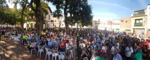 La plaça Jaume Grau i Altayó s'ha omplert