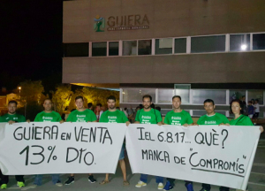 Protesta dels monitors de l'octubre de 2016