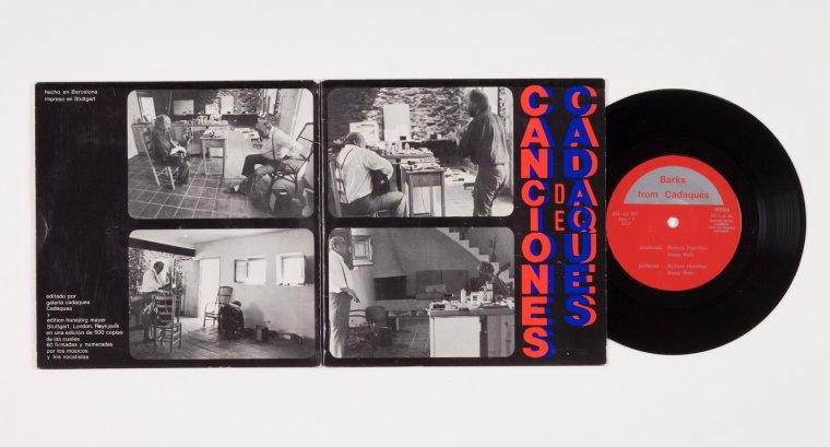 Richard Hamilton, Dieter Roth i Luis Chispas, Canciones Cadaqués, 1976. Col·lecció MACBA. Fundació MACBA. Donació Lanfranco Bombelli