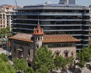 Can Serra, seu de la Diputació de Barcelona