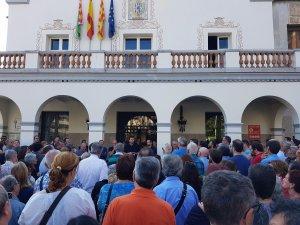 Concentració contra els presos polítics a Cerdanyola