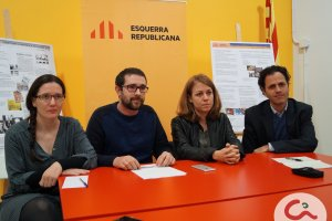 Els 4 regidors d'ERC en una imatge de Cerdanyola informa
