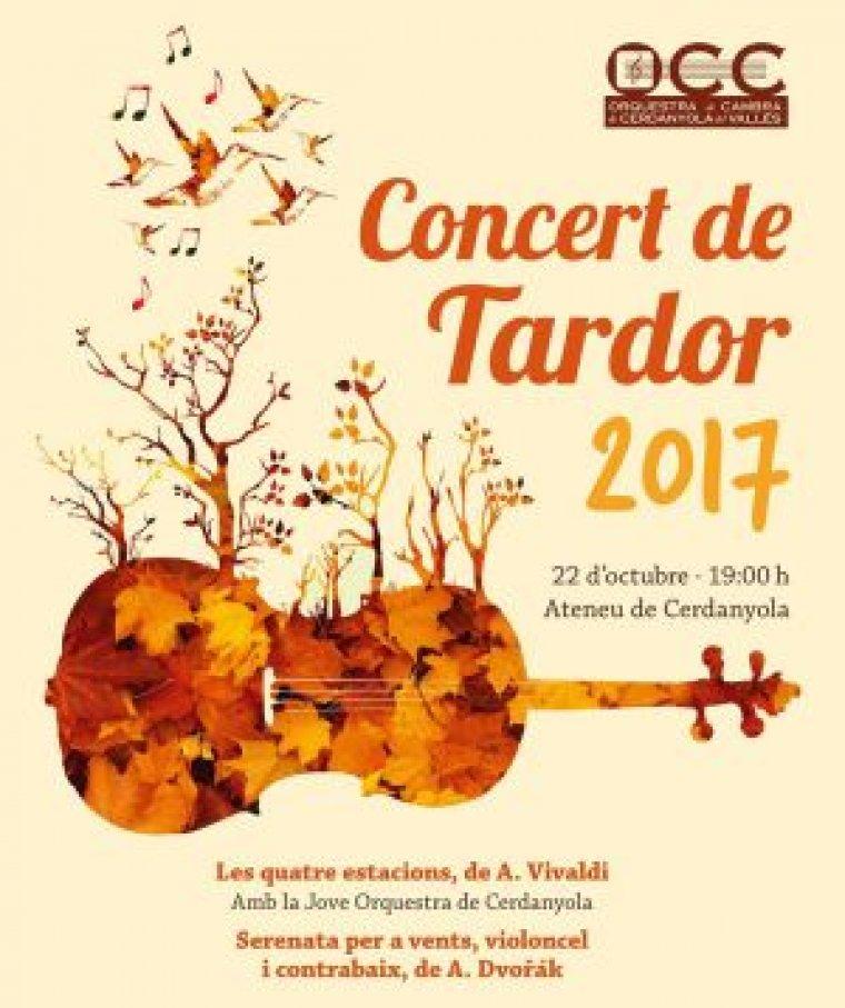 Arriba el dia del tradicional Concert de Tardor.