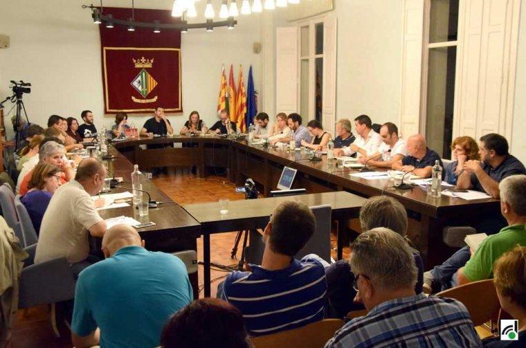 El Ple Municipal del setembre de 2017, a l'Ajuntament de Cerdanyola,