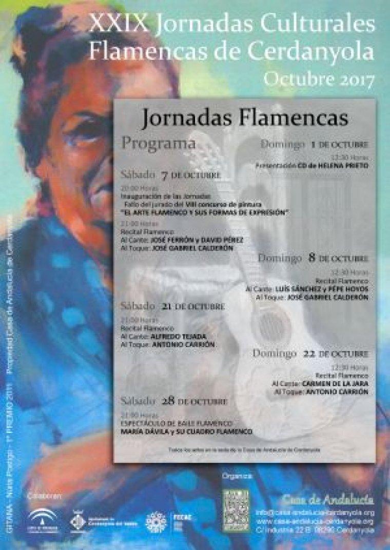 Les Jornades Flamenques estan ja completament consolidades a Cerdanyola.