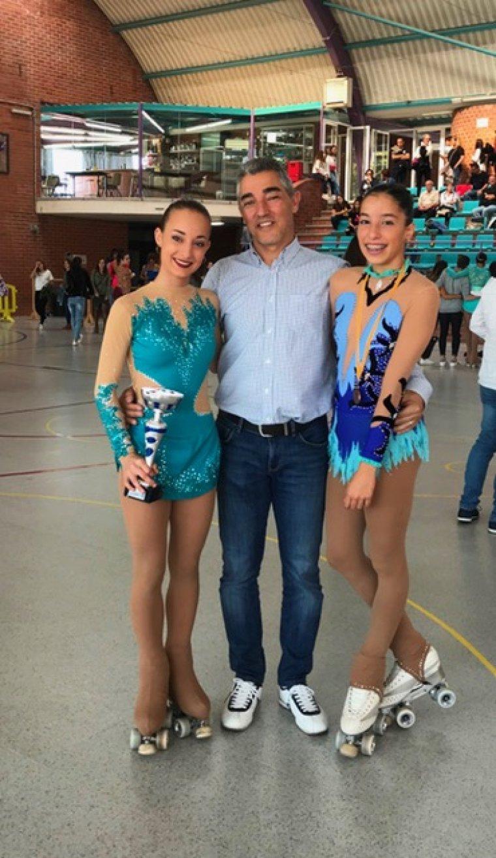 Les patinadores a Prats de Lluçanès