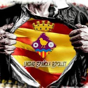 El grup convocant és la pàgina de Facebook Unidad Española ripollet que compta amb més de 900 seguidors